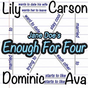Enough for Four - The Jane Doe Polyamory Poly Novel Experiment